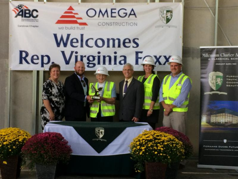 Construction Industry honors Rep. Virginia Foxx with Eagle Award!