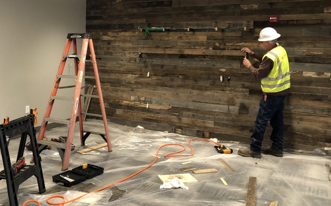 Our new office is under construction and nearing completion!