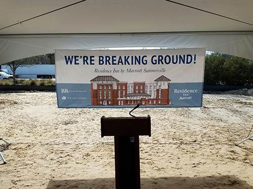 Summerville, SC Residence Inn Ground Breaking